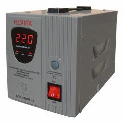 Стабилизатор напряжения Ресанта АСН-1500/1-Ц электронный однофазный серый