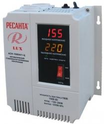 Стабилизатор напряжения Ресанта АСН-1500Н/1-Ц электронный однофазный серый