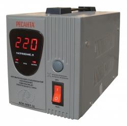Стабилизатор напряжения Ресанта АСН-500/1-Ц электронный однофазный серый