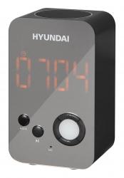 Радиобудильник Hyundai H-RCL300 черный