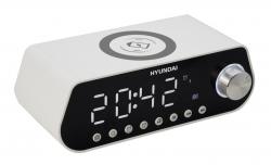 Радиобудильник Hyundai H-RCL380 белый