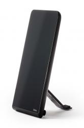 Антенна телевизионная Hama 00121663 активная черный каб.:1.5м