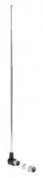 Антенна телевизионная Hama 00121671 пассивная серебристый