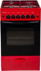 Плита Газовая Лысьва ГП 400 МС-2у вишневый (без крышки)