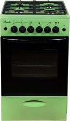 Плита Газовая Лысьва ГП 400 МС-2у зеленый (без крышки)