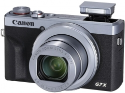 Фотоаппарат Canon PowerShot G7 X MARKIII серебристый/черный 20.1Mpix Zoom4.2x 3 4K SDXC/SD/SDHC CMOS IS opt 5minF rotLCD TouLCD VF 4.4fr/s RAW 60fr/s HDMI/WiFi/NB-13L