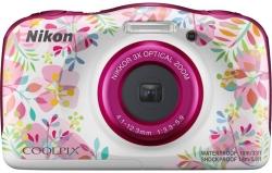 Фотоаппарат Nikon CoolPix W150 цветы 13.2Mpix Zoom3x 2.7 1080p 21Mb SDXC/SD/SDHC CMOS 1x3.1 5minF HDMI/KPr/DPr/WPr/FPr/WiFi/EN-EL19