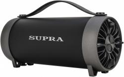 Аудиомагнитола Supra BTS-490 черный
