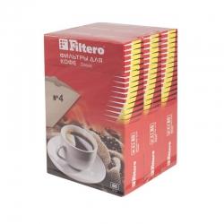 Фильтры для кофеварок Filtero №4/240 коричневый