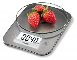 Весы кухонные электронные Beurer KS26 серебристый