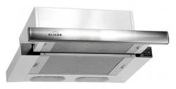 Вытяжка встраиваемая Elikor Интегра 60Н-400-В2Л нержавеющая сталь/нержавеющая сталь