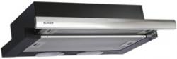 Вытяжка встраиваемая Elikor Интегра 60П-400-В2Л черный/нержавеющая сталь