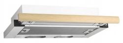 Вытяжка встраиваемая Elikor Интегра 60П-400-В2Л белый/дуб неокрашенный