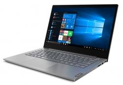 Ноутбук Lenovo Thinkbook 14-IIL Core i3 1005G1/4Gb/SSD256Gb/Intel UHD Graphics/14/IPS/FHD 1920x1080/Windows 10 Professional 64/grey/WiFi/BT/Cam