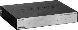 Коммутатор D-Link DES-1008D/L2B 8x100Mb неуправляемый