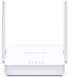 Роутер беспроводной Mercusys MW300D N300 10/100BASE-TX/ADSL белый