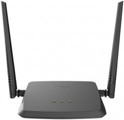 Роутер беспроводной D-Link DIR-615/X1A N300 10/100BASE-TX черный