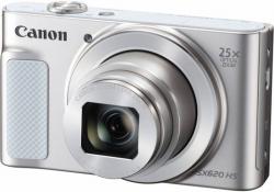Фотоаппарат Canon PowerShot SX620 HS белый 20.2Mpix Zoom25x 3 1080p SDXC/SD/SDHC CMOS 1x2.3 IS opt 5minF 2.5fr/s 30fr/s HDMI/WiFi/NB-13L