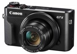 Фотоаппарат Canon PowerShot G7 X MARKII черный 20.2Mpix Zoom4.2x 3 1080p SDXC/SD/SDHC CMOS IS opt 5minF rotLCD TouLCD VF 4.4fr/s RAW 60fr/s HDMI/WiFi/NB-13L