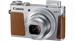 Фотоаппарат Canon PowerShot G9 X Mark II серебристый/коричневый 20.9Mpix Zoom3x 3 1080p SDXC CMOS IS opt 5minF TouLCD 6fr/s RAW 60fr/s HDMI/WiFi/NB-13L