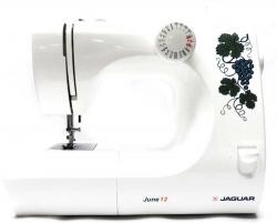 Швейная машина Jaguar June12 белый/цветы