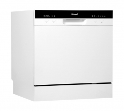 Посудомоечная машина Weissgauff TDW 4006 D белый/черный (компактная)