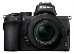 Фотоаппарат Nikon Z50 черный 20.9Mpix 3.2 4K Nikkor Z DX 16-50 f/3.5-6.3 VR EH-73P