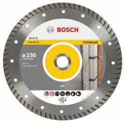 Алмазный диск универсальный Bosch Standard for Universal Turbo (2608602397) d=230мм d(посад.)=22.23мм (угловые шлифмашины)