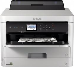 Принтер струйный Epson WorkForce Pro WF-M5299DW (C11CG07401) черный