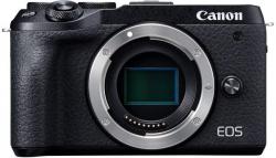 Фотоаппарат Canon EOS M6 Mark II черный 32.5Mpix 3 1080p WiFi LP-E17 (без объектива)