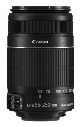 Объектив Canon EF-S IS STM (8546B005) 55-250мм F/4-5.6