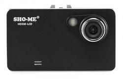 Видеорегистратор Sho-Me HD330-LCD черный 1080x1920 1080p 140гр.