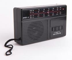 Радиоприемник портативный Сигнал Эфир-14 черный