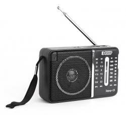 Радиоприемник портативный Сигнал Эфир-15 черный