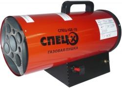 Тепловая пушка газовая Спец СПЕЦ-IGE-10 черный