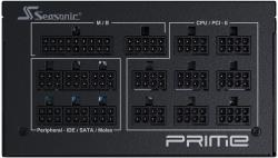 Блок питания Seasonic ATX 1000W PRIME PX-1000 80+ platinum 24+2x4+4 pin APFC 135mm fan 14xSATA Cab Manag RTL