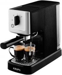 Кофемашина Krups XP344010 1460Вт черный/серебристый