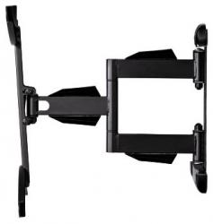 Кронштейн для телевизора Hama Fullmotion H-118619 черный 32 -56 макс.25кг настенный поворот и наклон