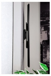 Кронштейн для телевизора Hama Fullmotion H-118630 черный 32 -56 макс.25кг настенный поворот и наклон