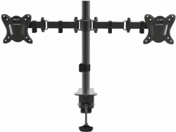 Кронштейн для мониторов Arm Media LCD-T13 черный 15 -32 макс.8кг настольный поворот и наклон верт.перемещ.