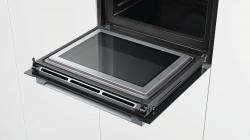 Духовой шкаф Электрический Bosch HNG6764S6 нержавеющая сталь/черный