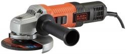 Углошлифовальная машина Black+Decker G850-RU 850Вт 12000об/мин рез.шпин.:M14 d=125мм