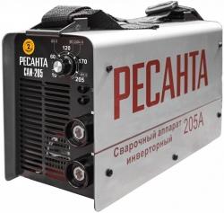 Сварочный аппарат Ресанта САИ205 инвертор ММА DC