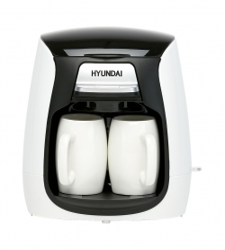 Кофеварка капельная Hyundai HYD-0204 белый