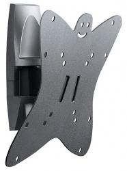 Кронштейн для телевизора Holder LCDS-5036 металлик 19 -37 макс.30кг настенный поворот и наклон