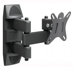 Кронштейн для телевизора Holder LCDS-5039 металлик 10-26 макс.25кг настенный поворот и наклон