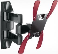 Кронштейн для телевизора Holder LCDS-5066 черный 22 -42 макс.30кг настенный поворот и наклон