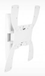 Кронштейн для телевизора Holder LCDS-5019 белый 22 -42 макс.30кг настенный поворотно-выдвижной и наклонный