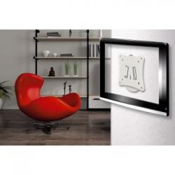 Кронштейн для телевизора Hama H-108734 белый-26 макс.25кг настенный фиксированный