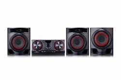 Минисистема LG CJ45 черный 720Вт/CD/CDRW/FM/USB/BT